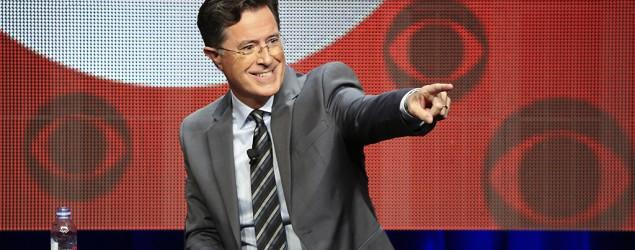Colbert one-ups Bush with own $3 raffle