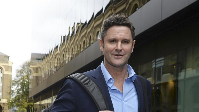 Former New Zealand cricket captain Chris Cairns leaves Southwark Crown Court in London