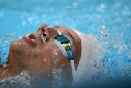 US swimmer Ryan Lochte, seen here during a training session on July 26, at the Aquatics center in London, on the eve of the opening ceremony of the 2012 London Olympic Games. One of Michael Phelps's biggest challengers figures to be Lochte, who has emerged as a serious threat in both medleys