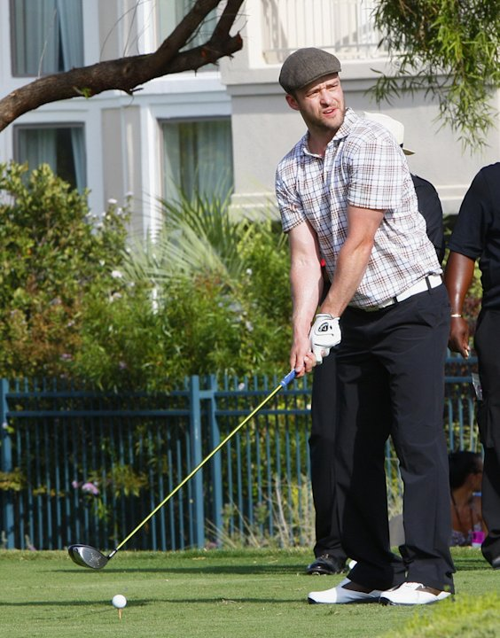 Justin Timberlake Charity Golf