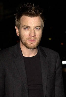 Ewan McGregor at the Beverly Hills premiere of Columbia's Black Hawk Down