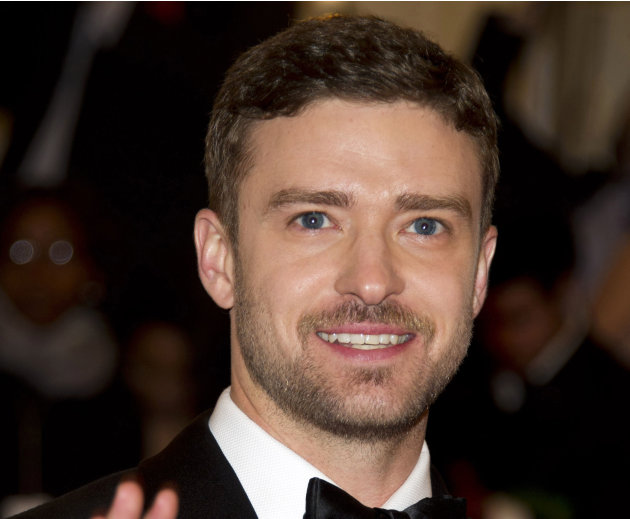FILE - This May 7, 2012 file photo shows singer-actor Justin Timberlake at the Metropolitan Museum of Art Costume Institute gala benefit in New York. Timberlake has concentrated almost exclusively on