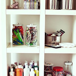 Keep shelves well-stocked