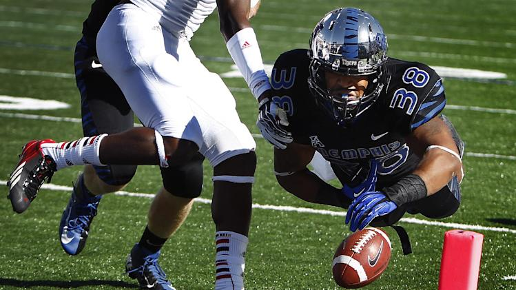 Memphis offense rolls in 31-7 win over Arkansas St