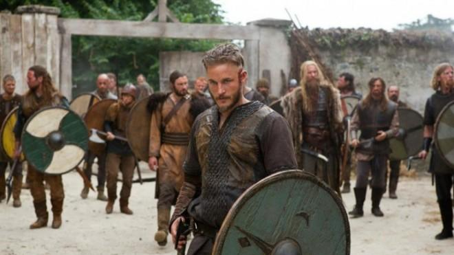 Travis Fimmel stars in Vikings, which premieres Sunday night.