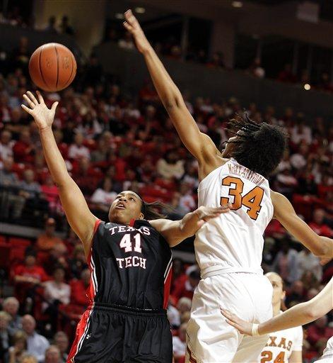 Texas Tech women upend Texas 69-62