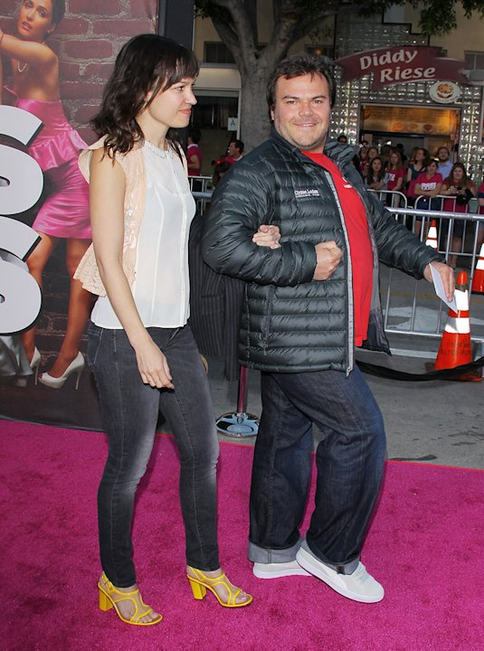 Bridesmaids LA premiere 2011 Jack Black