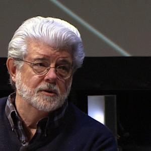 Director George Lucas on threat to movie industry