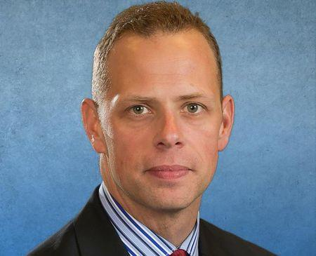 Seaside Police Department Sergeant Jason Goodding is seen in an undated picture