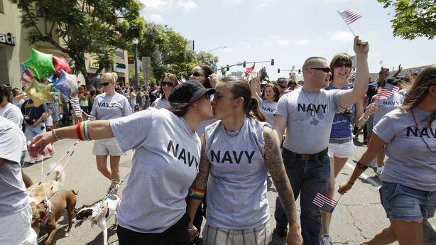 Gay Troops Are Still in a Post-DOMA Trap