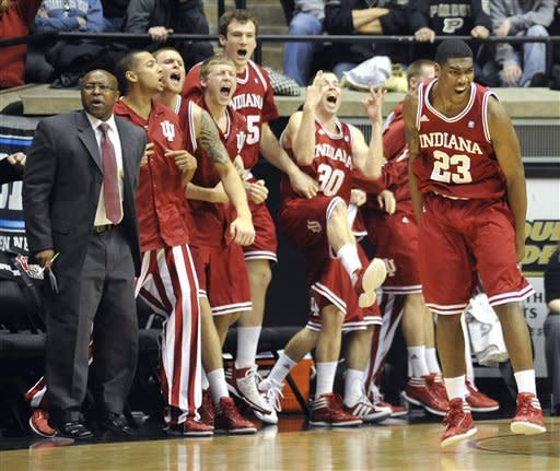 Oladipo leads No. 20 Indiana past Purdue