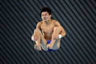 China&#39;s Qiu Bo competes in the men&#39;s 10m platform preliminary round during the diving event at the London 2012 Olympic Games, on August 10. Qiu will expect to collect China&#39;s seventh diving gold medal in Saturday&#39;s final, after leading Friday&#39;s qualifiers