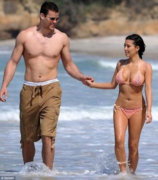 Kris Humphries and Kim Kardashian. Photo: Splash Photography
