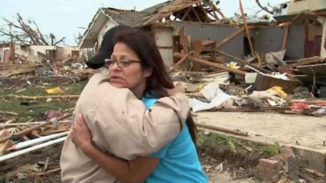 """Everything is going to work out"" -Oklahoma survivor"