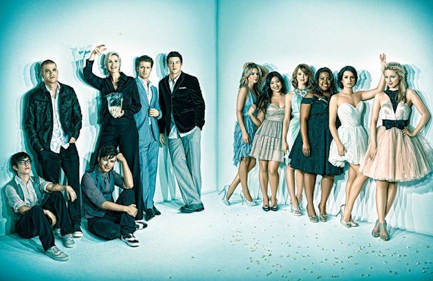 Glee Emmys Magazine Photoshoot