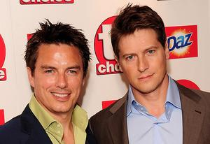 John Barrowman and Scott Gill | Photo Credits: Ian Gavan/Getty Images