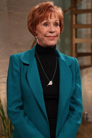 Comedy icon Carol Burnett visits Access Hollywood Live on March 24, 2011  -- Access Hollywood
