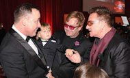 Elton John&#39;s Son Zachary Stars At Oscars Bash