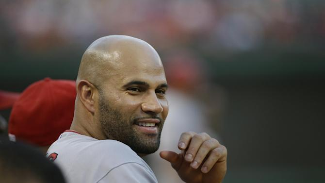 Pujols says he will take part in All-Star Home Run Derby
