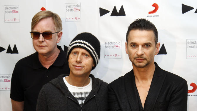 Depeche Mode, Cure, Muse top ACL Fest lineup