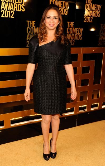 'Up All Night' star Maya Rudolph attends The Comedy Awards 2012 at Hammerstein Ballroom in New York City on April 28, 2012  -- WireImage