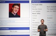 Facebook CEO Mark Zuckerberg delivers a keynote in 2011. In a filing with the US Securities and Exchange Commission on Thursday, Facebook set a price range of $28 to $35 for its shares, which would value the firm at between $70 billion and $87.5 billion