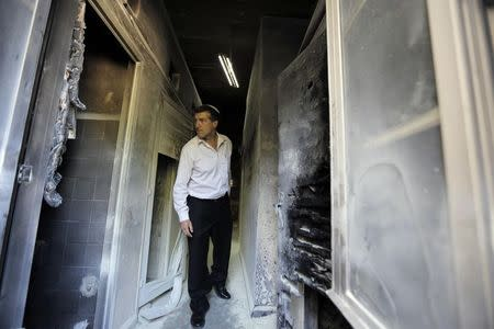 Arson damages Christian seminary in Jerusalem in suspected hate crime