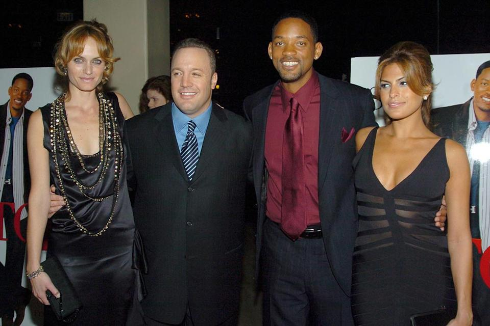 Amber Valletta Kevin James Will Smith Eva Mendes 2005