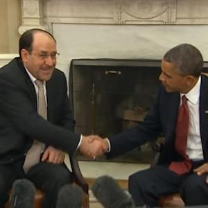Obama hosts Iraqi Prime Minister Maliki