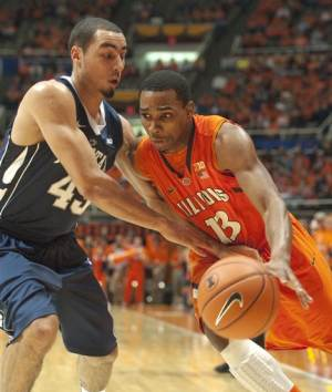 Illinois holds on for 64-59 win over Penn State