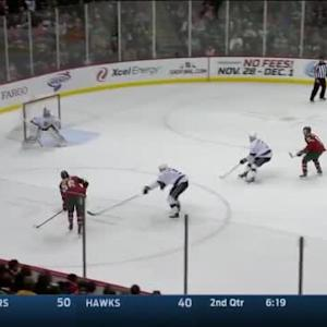 Martin Jones Save on Erik Haula (10:23/1st)