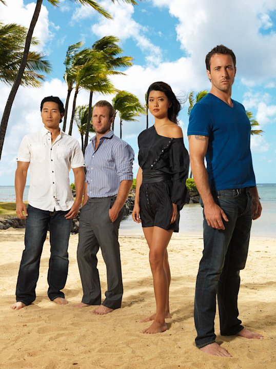 "The cast of ""Hawaii Five-0."""