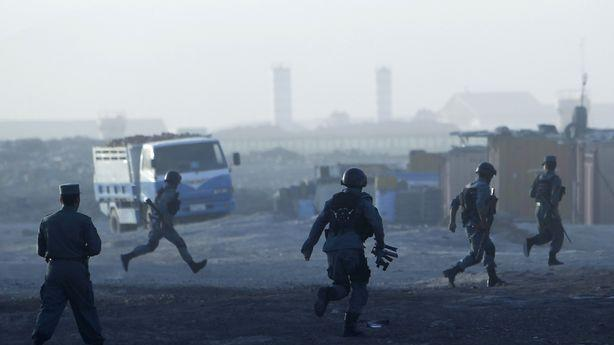 Kabul's International Airport Attacked by Taliban Insurgents