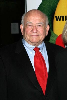 Premiere: Ed Asner at the New York premiere of New Line's Elf - 11/2/2003