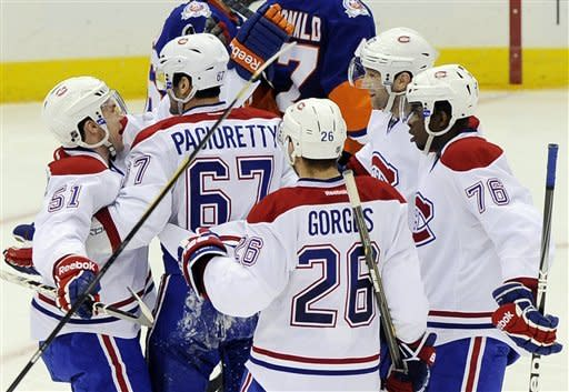 Pacioretty's hat trick lifts Canadiens over Isles