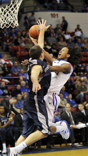 No. 25 Louisiana Tech beats Utah State 84-61