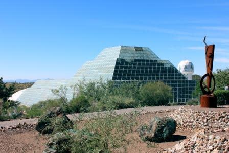 Rock Tasting at Biosphere 2