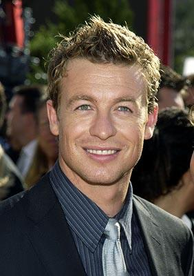 Simon Baker Emmy Awards - 9/22/2002