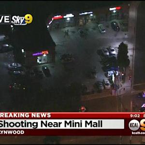 Homicide Detectives Investigating Shooting Death Near Lynwood Mini Mall