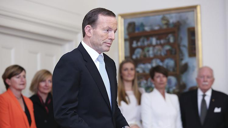 Australia's new prime minister sworn into power