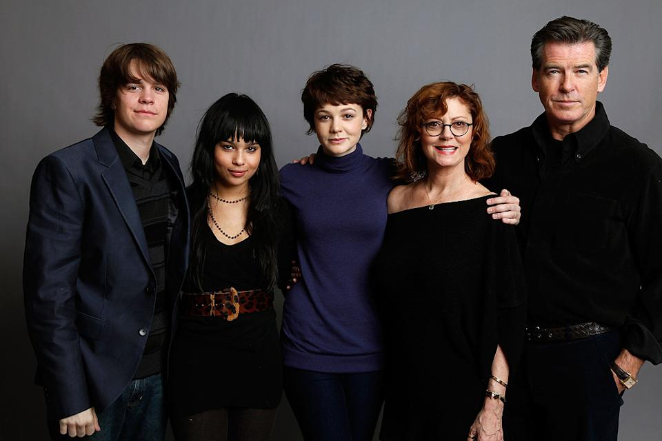 Sundance Film Festival 2009 Portraits Johnny Simmons Zoe Kravitz Carey Mulligan Susan Sarandon Pierce Brosnan