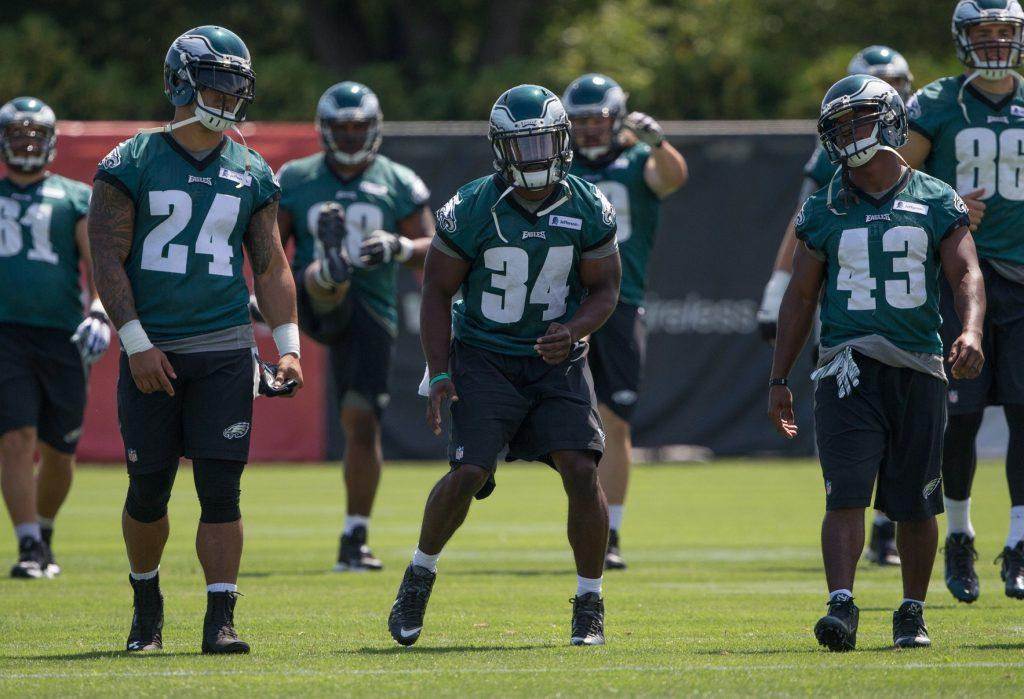 The Eagles face uncertainty at running back