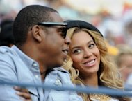 Entertainer Jay-Z (L) and wife Beyoncé (R) watch the men's final match of the US Open tennis tournament in 2011 at the Billie Jean King National Tennis Center in New York. Beyonce and Jay-Z's daughter Blue Ivy has been named an honorary citizen of the Croatian town of Hvar, after reports the couple named her for a local tree