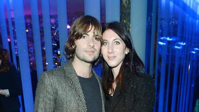 Actor Robert Schwartzman and Zoey Grossman at The Premiere of Intel & W Hotels' Four Stories on Tuesday, Nov. 27, 2012, W Hotel, London. (Photo by Jon Furniss/Invision for Intel/AP Images)