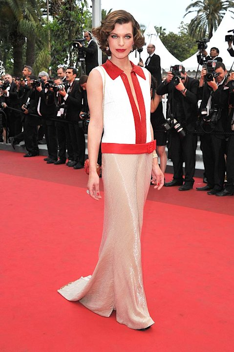Mila Jovovich Cannes