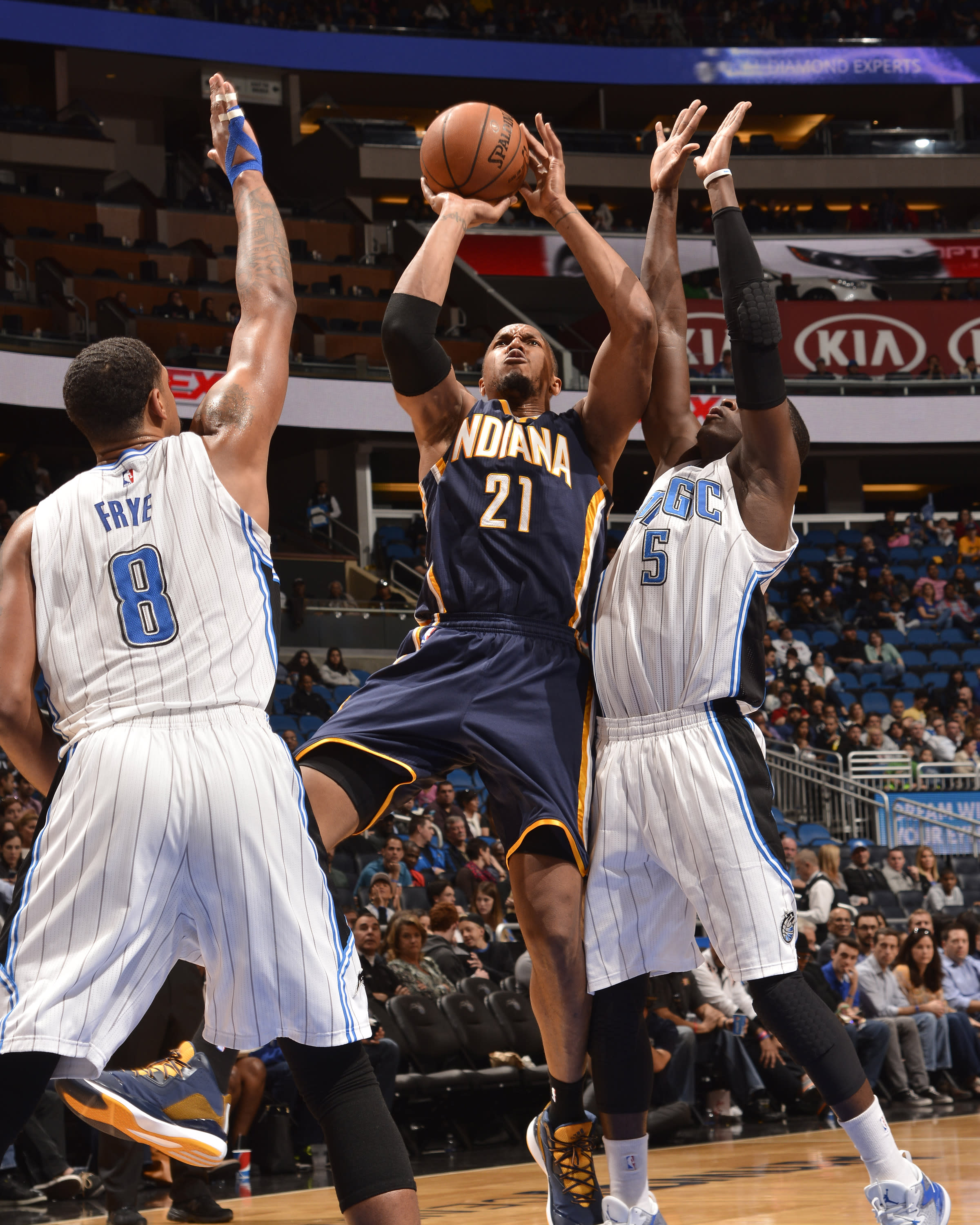 Big 4th quarter helps Pacers end skid, down Magic 106-99