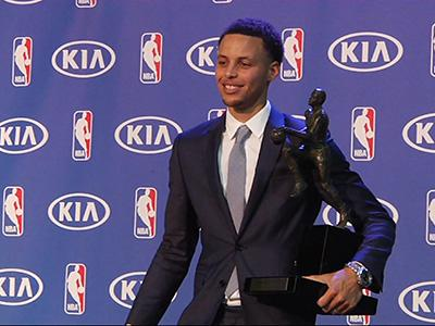 Stephen Curry Named NBA MVP