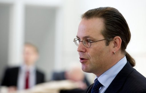 <p>The eurozone crisis will get worse before it gets better and Greece could exit the single currency bloc within a year, Swedish Finance Minister Anders Borg, pictured in 2011, said in an interview.</p>