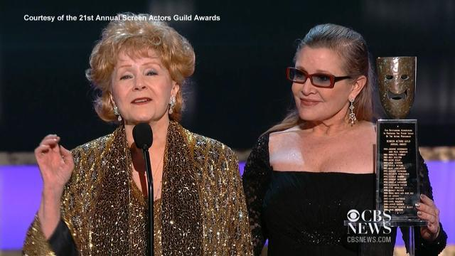 Debbie Reynolds wins SAG Life Achievement Award