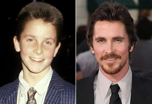 Growing Up on the Red Carpet Christian Bale